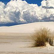 White Sands Cross Poster