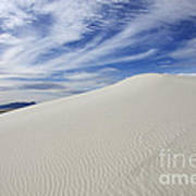 White Sands National Monument Big Dune Poster by Bob Christopher