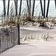 White Sands Of Pensacola Beach Poster