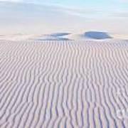 White Sands Serenity Poster