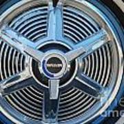 White Wall And Chrome Wheels Poster