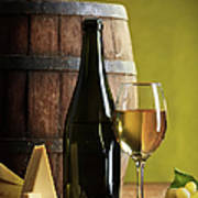 White Wine Composition Poster