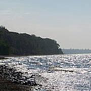 Whitefish Bay Shoreline Poster