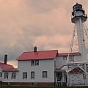 Whitefish Point Light Poster