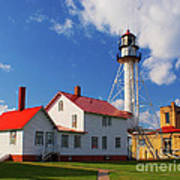 Whitefish Point Lighthouse Mi Poster