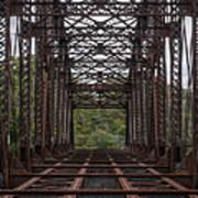 Whitford Railway Truss Bridge Poster