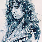 Whole Lotta Love Jimmy Page Poster by Paul Lovering