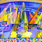 Widespread Panic Peabody Opera House Poster