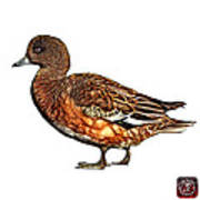 Wigeon Art - 7415 - Wb Poster