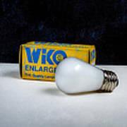 Wiko Enlarger Lamp Poster