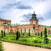 Wilanow Palace In Warsaw Poland Poster