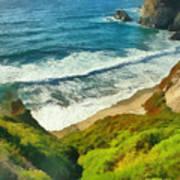Wild Beach Poster