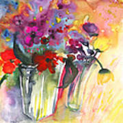 Wild Flowers Bouquets 02 Poster