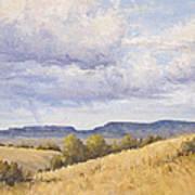 Wild Montana Skies Poster