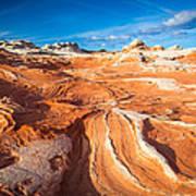 Wild Sandstone Landscape Poster