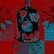 Wild Still Life - 0101a - Red Poster