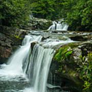 Wildcat Falls In Joyce Kilmer Wilderness Poster