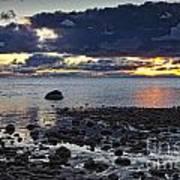 Wilderness Park Sunset Poster