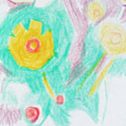 Wildflowers Cyprus Poster