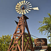 Wildseed Farms Windmill Poster