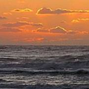 Wildwood Beach Just Before Dawn Poster