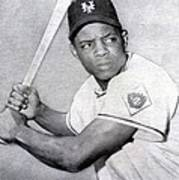 Willie Mays  Poster Poster