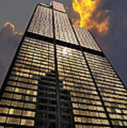 Willis Sears Tower Poster