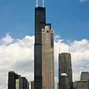Willis Tower Aka Sears Tower Poster