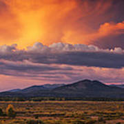 Willow Flats Sunset Poster