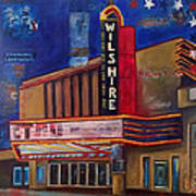 Wilshire Theater Poster