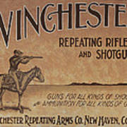 Winchester Sign Poster