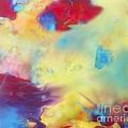 Wind Abstract Painting Poster