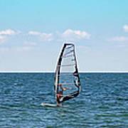 Wind Surfer Poster