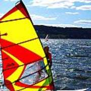 Wind Surfer II Poster