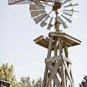 Windmill Antique In Color 3005.02 Poster