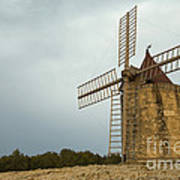 Windmill, France Poster