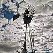 Windmill In The Clouds Poster
