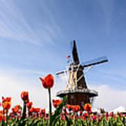 Windmill Island Gardens Poster