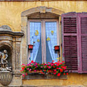 Window And Sculpture Poster