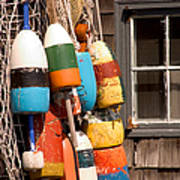 Rockport Buoy View Poster