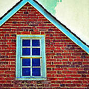 Window In Brick House Poster