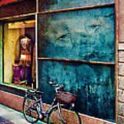 Window In Como Poster