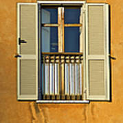 Window Of Rome II Poster