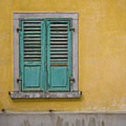 Window Shutter Poster
