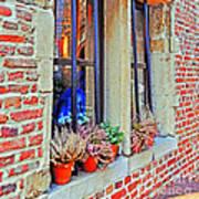 Window To Antwerp Poster