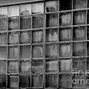 Windows Black And White Poster