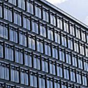 Windows In Copenhagen Poster