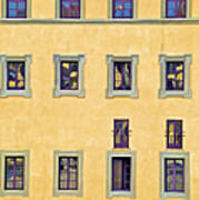 Windows Of Florence Poster