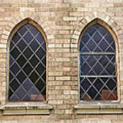 Windows Within The Catholic Walls Poster