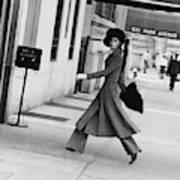 Windsor Elliot Walking Toward An Apartment Poster